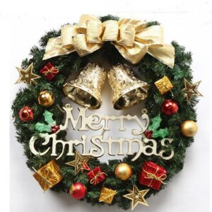 Beautiful Christmas Decorated Wreath | Multiple Sizes | Holiday Decor | All For Xmas