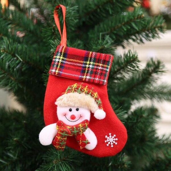 Mini Christmas Tree Stockings | Tree Decorations | All For Xmas