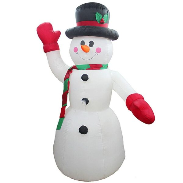 2.4M-8FT Inflatable Giant Snowman LED Lighted | Outdoor Christmas Decor | All For Xmas
