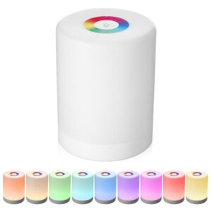 Smart Touch Portable Light Colorful Lamp | Home Lighting | All For Xmas