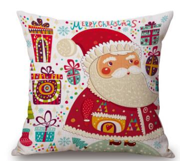 Christmas Holiday Pillow Covers | Decorative Cushion | Home Decor | All For Xmas
