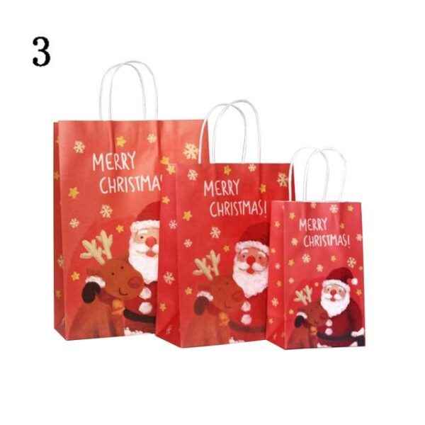 40pcs Christmas Small Paper Gift Bags   Gift Decor   All For Xmas