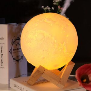 Moonlight Humidifier Color Changing Night Light | USB Charge | Essential Oils Mist | All For Xmas