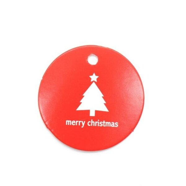 50pcs Christmas Tags Kraft Paper Cards | Gift Decor | All For Xmas