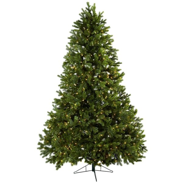 7.5' Royal Grand Artificial Christmas Tree With 800 Clear Lights