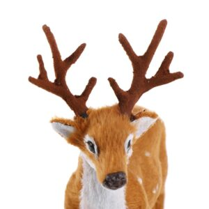 Miniature Reindeer For Christmas Village | Home Decor | All For Xmas