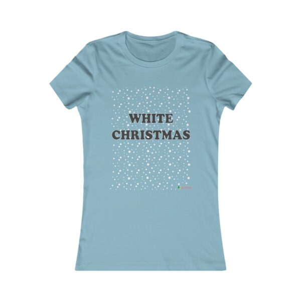 T-Shirt | White Christmas Women Cotton Tee | Multiple Colors | Christmas Apparel | All For Xmas