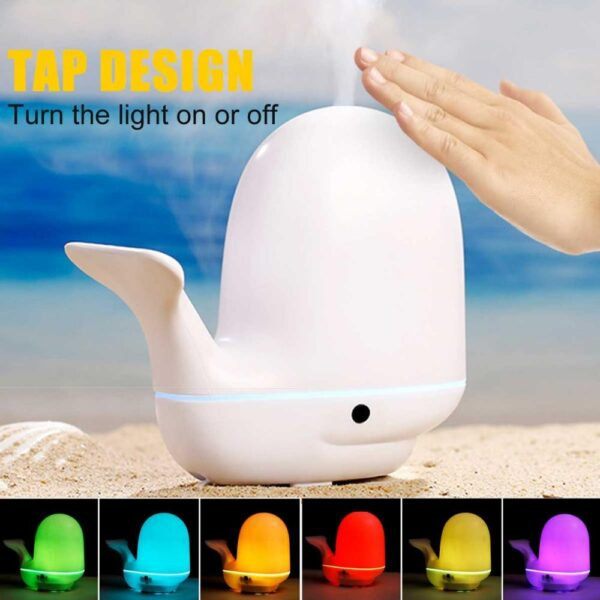 Whale Air Humidifier Ultrasonic Aroma Essential Oil Diffuser | All For Xmas