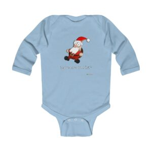 Baby Long Sleeve Bodysuit | Santa Are You OK | Christmas Apparel | All For Xmas