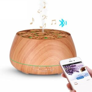 Wood Essential Oil Diffuser Bluetooth Speaker | Christmas Presents | All For Xmas