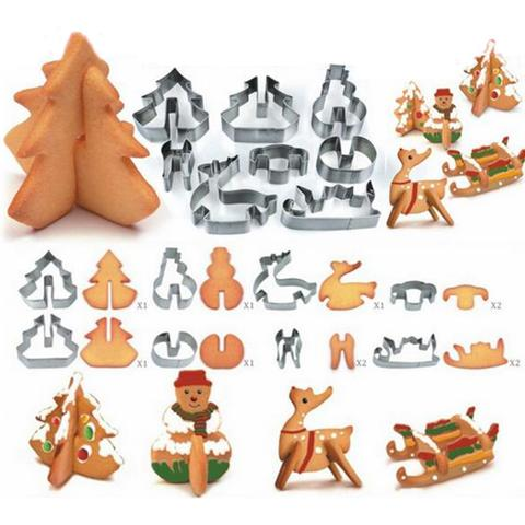 holiday cookie moulds