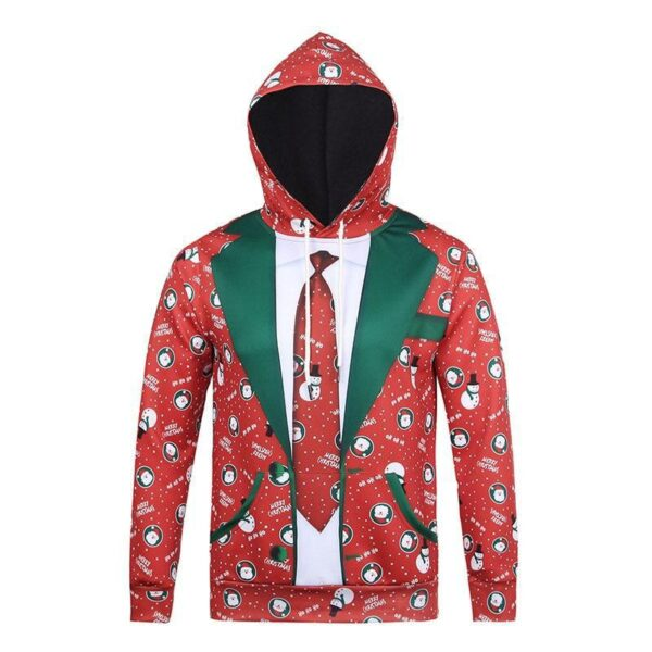 Allover Print Christmas Hoodies | Christmas Apparel | All For Xmas