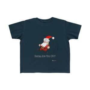 Toddler T-Shirt | Santa Are You OK | Multiple Colors | Christmas Apparel | All For Xmas