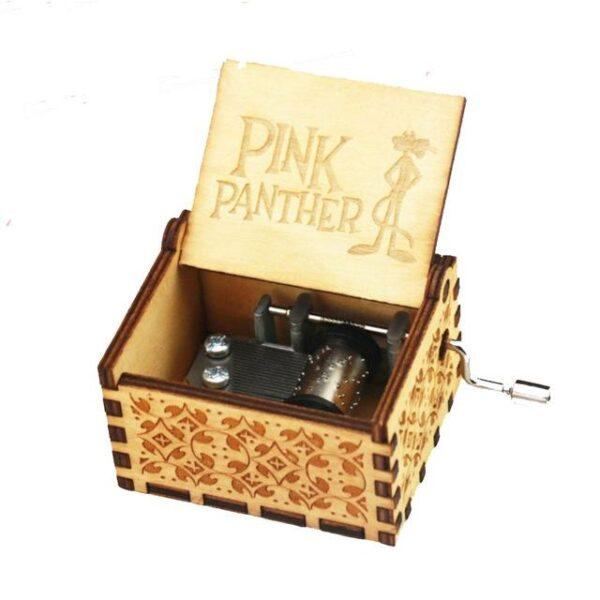 Antique Wooden Carved Music Box | Christmas Gifts | All For Xmas