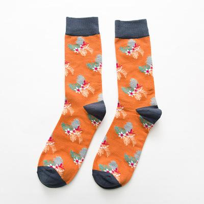 Colorful Combed Cotton Socks - 4 Patterns | Christmas Apparel | All For Xmas