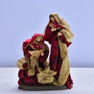 Christmas Nativity Scene in Black and Gold   Christmas Decor   All For Xmas