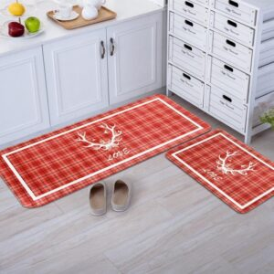 Christmas Non-Slip Kitchen Carpet Bathroom Rug | Home Decor | All For Xmas