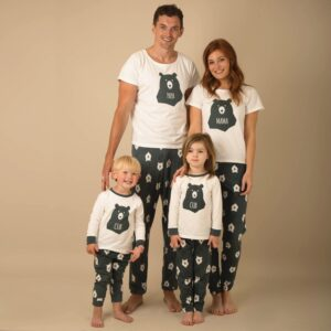 Christmas Family Matching Pajamas - Bear Family | Christmas Apparel | All For Xmas