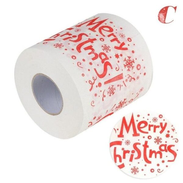 Christmas Decorated Toilet Paper Roll | Bathroom Decor | All For Xmas