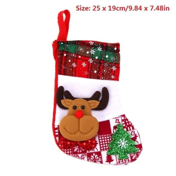 Christmas Traditional Printed 3D Stockings - Multiple designs | Home Decor | All For Xmas