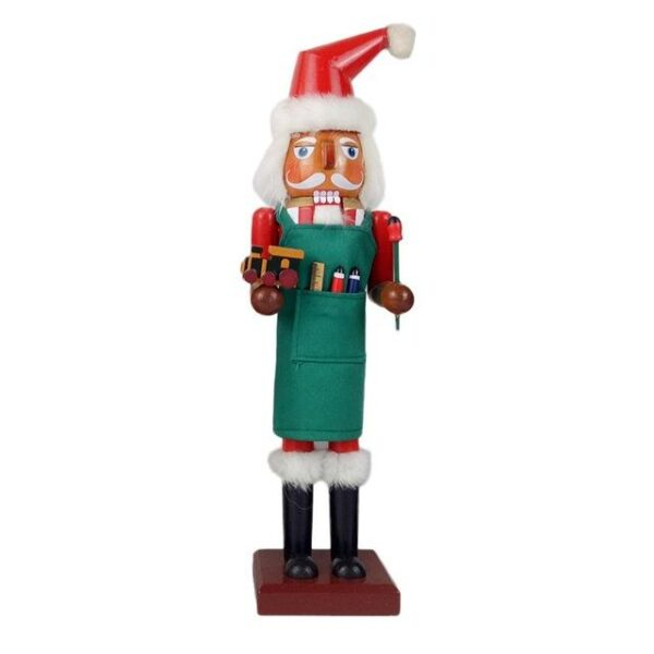 Big 38CM 15IN Nutcracker Style Christmas Puppet  | Christmas Decorations | All For Xmas