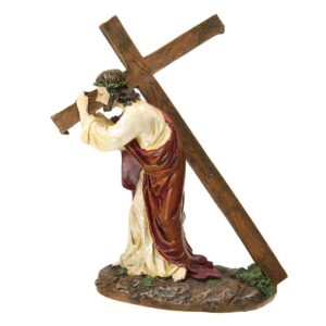 Christmas Nativity Scene - Christ Carrying The Cross | Christmas Decor | All For Xmas