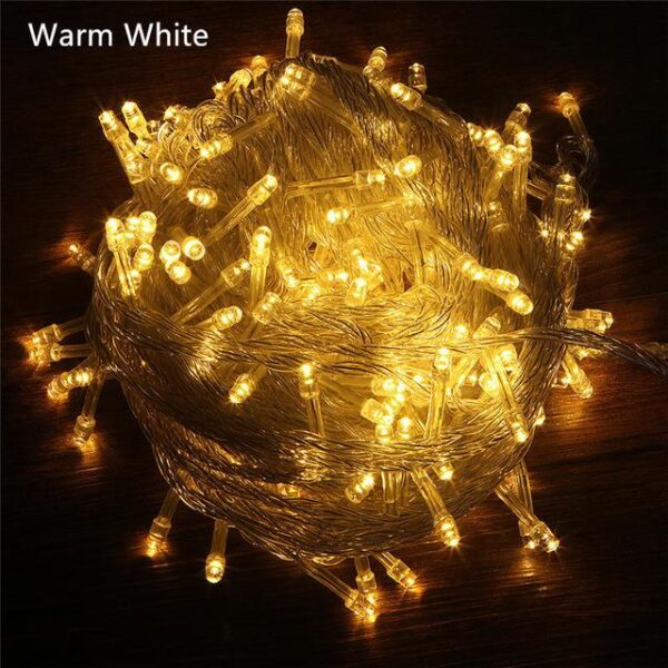 Outdoor LED String Lights - 8 Modes | Christmas Lighting | All For Xmas