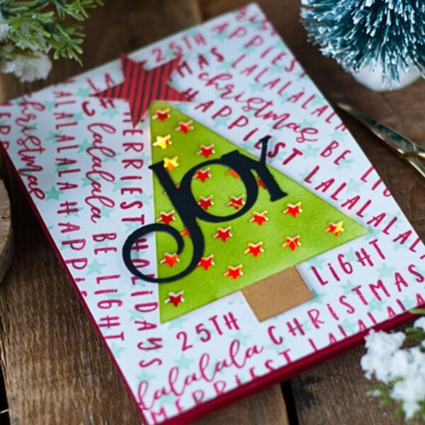 Trees And Stars - DIY Die Cut   Gifts For Christmas   All For Xmas