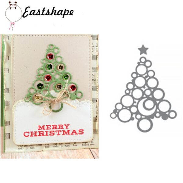 Christmas Decorated - DIY Die Cuts | Gifts For Christmas | All For Xmas