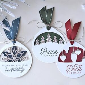 Christmas Ornaments 3PCS - DIY Die Cut | Gifts For Christmas | All For Xmas