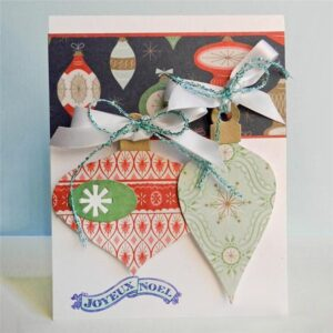 Christmas Ornaments - DIY Die Cut | Gifts For Christmas | All For Xmas