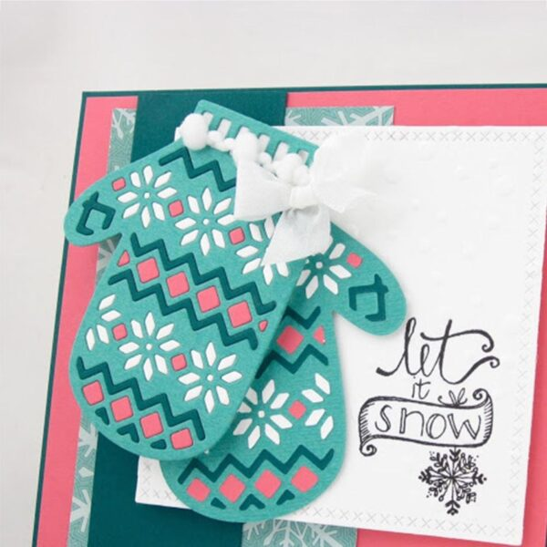 Mittens Gloves - DIY Die Cut   Gifts For Christmas   All For Xmas