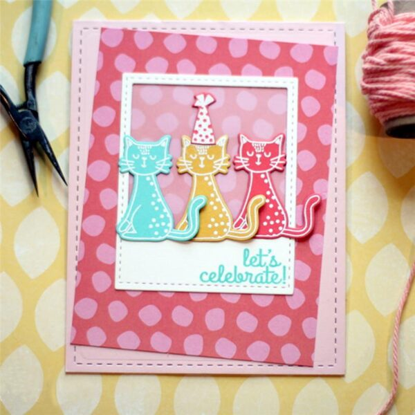 Dog Fish Cat Rainbow - DIY Die Cut | Gifts For Christmas | All For Xmas