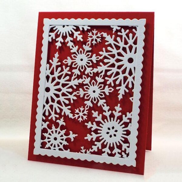 Sunflower Snowflake Crane - DIY Die Cut | Gifts For Christmas | All For Xmas
