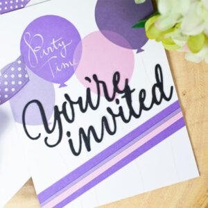 You're Invited - DIY Die Cut | Gifts For Christmas | All For Xmas
