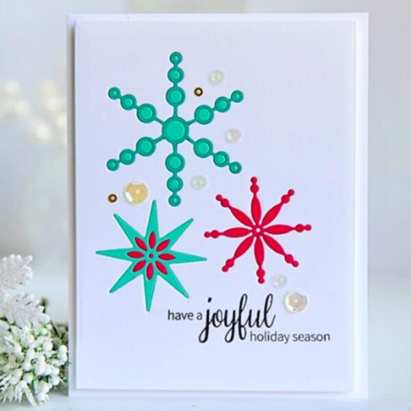 Snowflakes 6PCS - DIY Die Cut | Gifts For Christmas | All For Xmas
