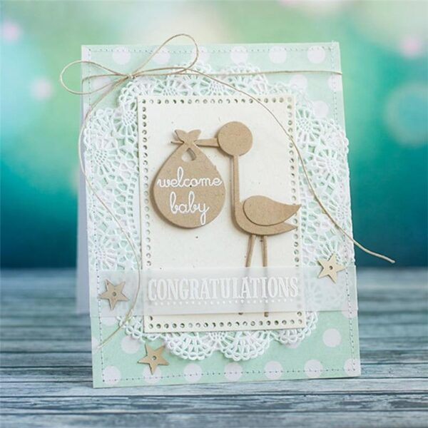 Stork - DIY Die Cut | Gifts For Christmas | All For Xmas