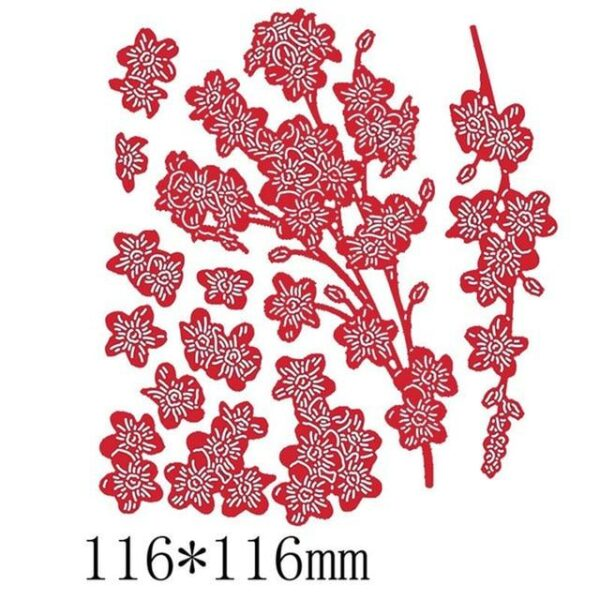 Flowers And Vases Metal Cutting Dies | DIY Scrapbooking | All For Xmas