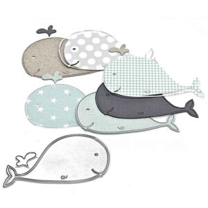 Whale DIY Die Cut | Gifts For Christmas | All For Xmas