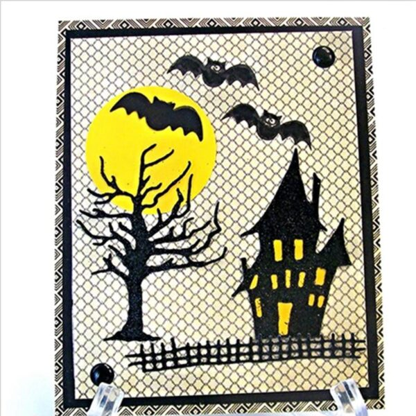 Halloween Haunted House Metal Cutting Die | DIY Scrapbooking | All For Xmas