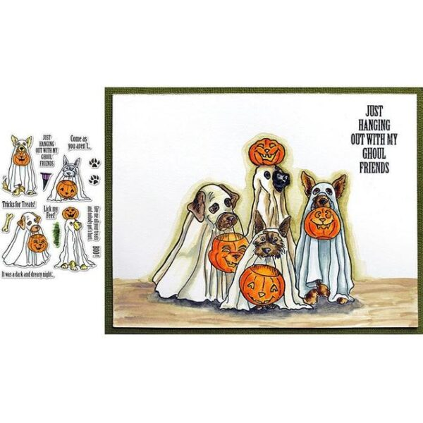 Halloween Stamps | DIY Scrapbooking | All For Xmas