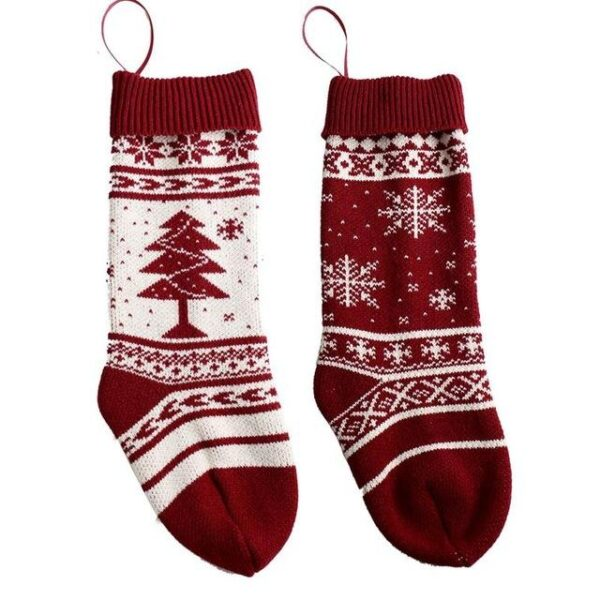 Knitted Christmas Traditional Stocking - 2 Patterns   Home Decor   All For Xmas