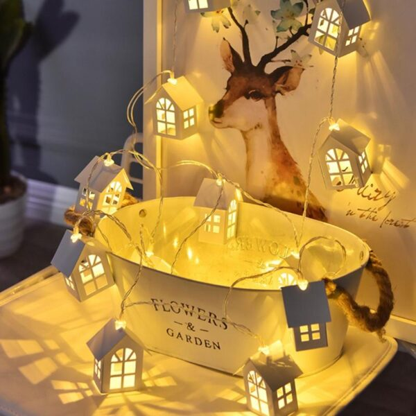 LED Tree House String | Christmas Decoration | All For Xmas