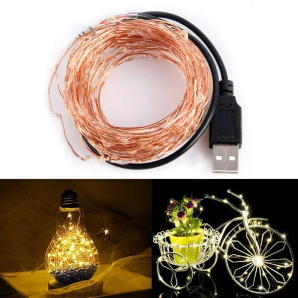 LED String Lights Copper Wire | Christmas Lighting | All For Xmas