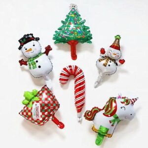 1pcs Christmas Foil Air Balloons | Christmas Party Decor | All For Xmas