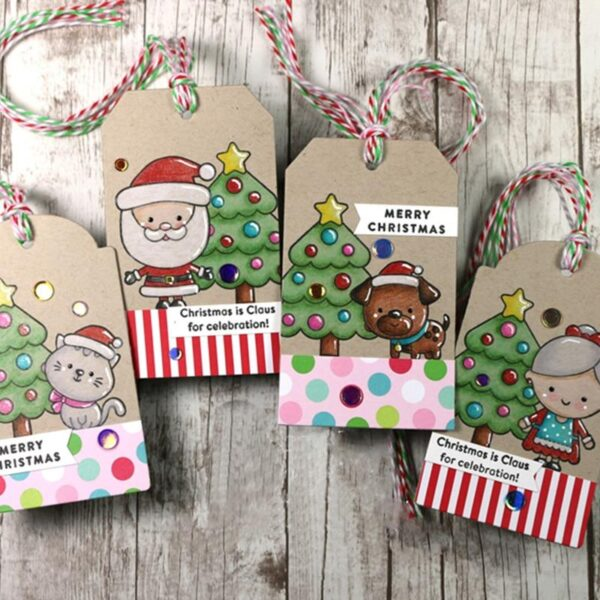 Christmas Family Metal Cutting Die | DIY Scrapbooking | All For Xmas