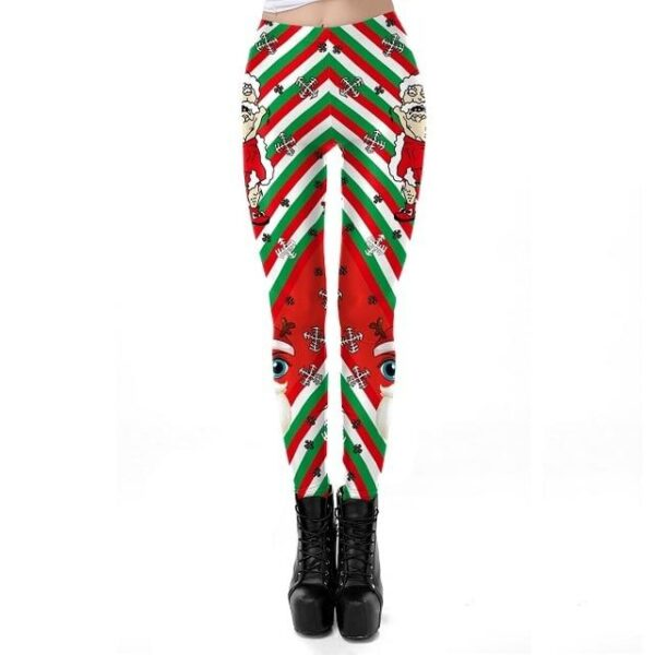 Ugly Christmas Women Leggings | Christmas Apparel | All For Xmas