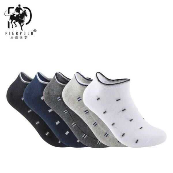 5 Pairs Casual Cotton Ankle Socks | Christmas Apparel | All For Xmas