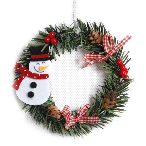 Christmas Wreath 6Inch-15CM | Christmas Decoration | All For Xmas