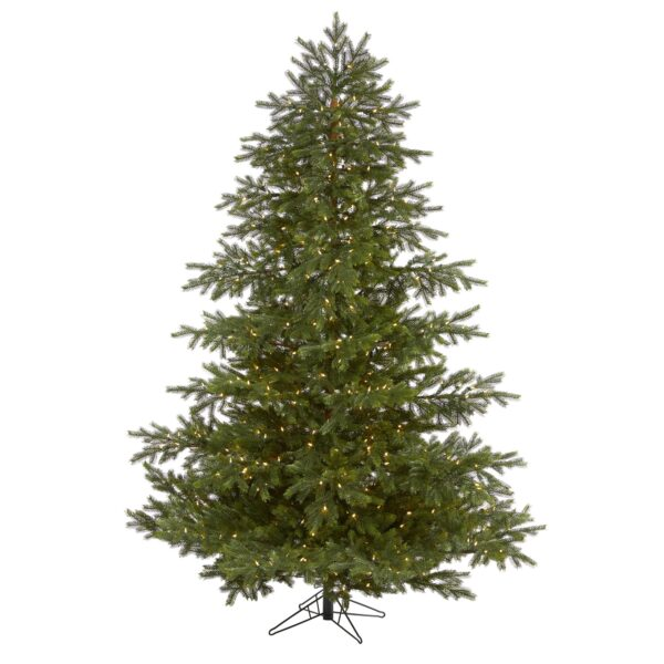 7.5' South Carolina Spruce Real Touch Artificial Wide Christmas Tree
